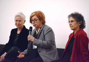 left to right: Carolyn Westhoff, Terry McGovern, Wendy Chavkin