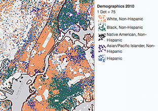 A New York City snapshot using the US Department of Housing and Urban Development Data and Mapping Tool