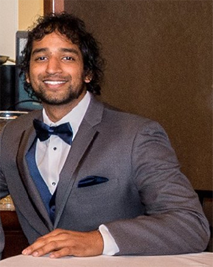 Rohit Raghunathan, completing his second year in biostatistics.