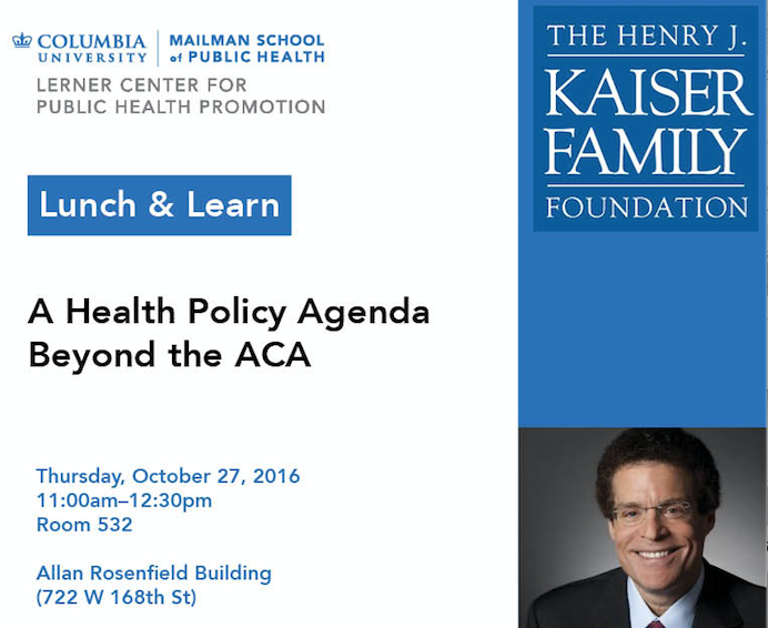 Lunch & Learn with Dr. Altman, Kaiser Family Foundation