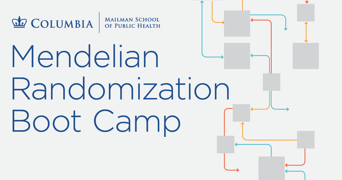 Mendelian Randomization Boot Camp training
