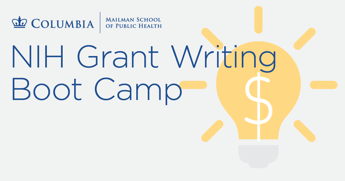 NIH Grant writing boot camp training