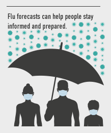 Flu forecasts can help people stay informed and prepared.