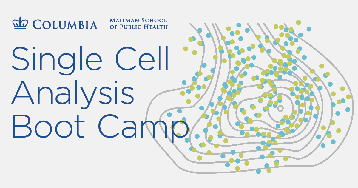 Single Cell Analysis Boot Camp training