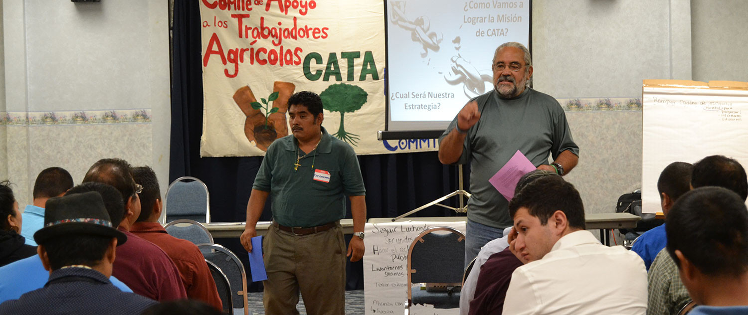 farmworkers discuss new rules to protect them from pesticides