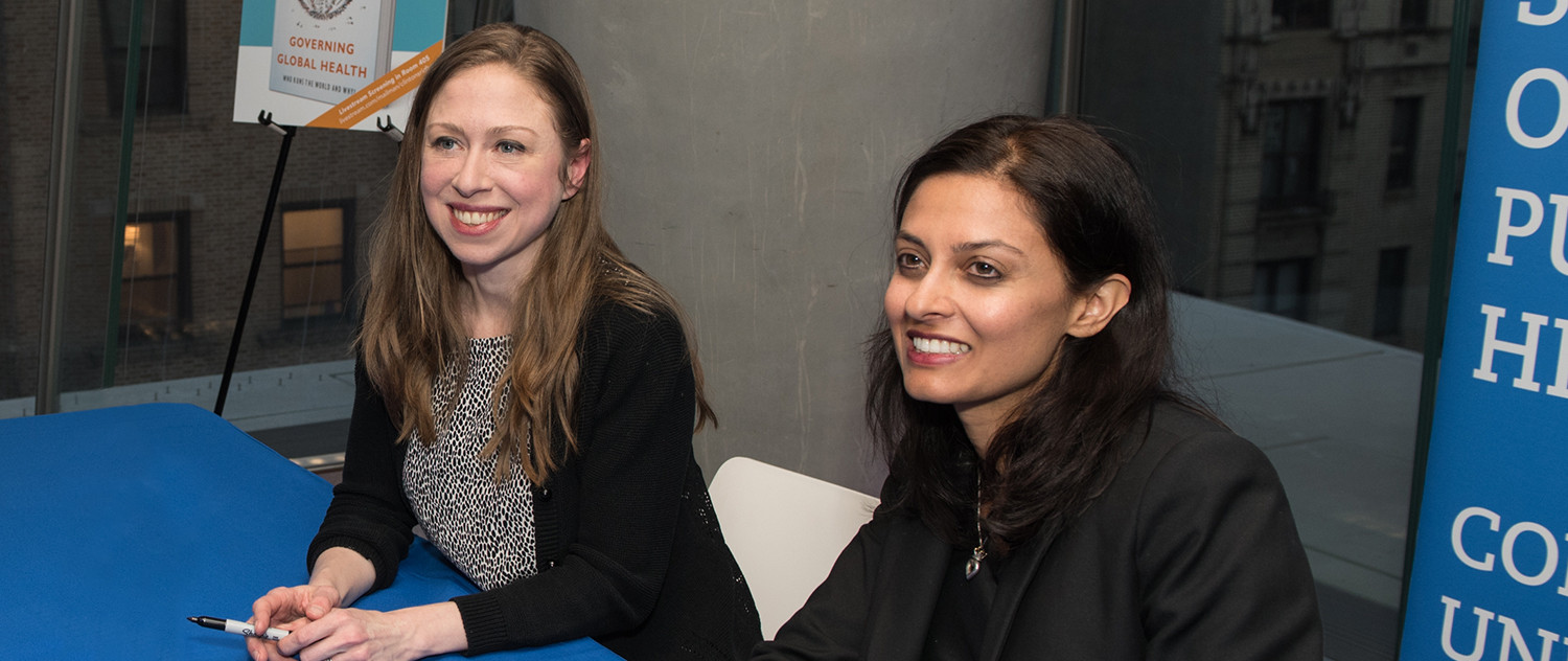 Chelsea Clinton and Devi Sridhar