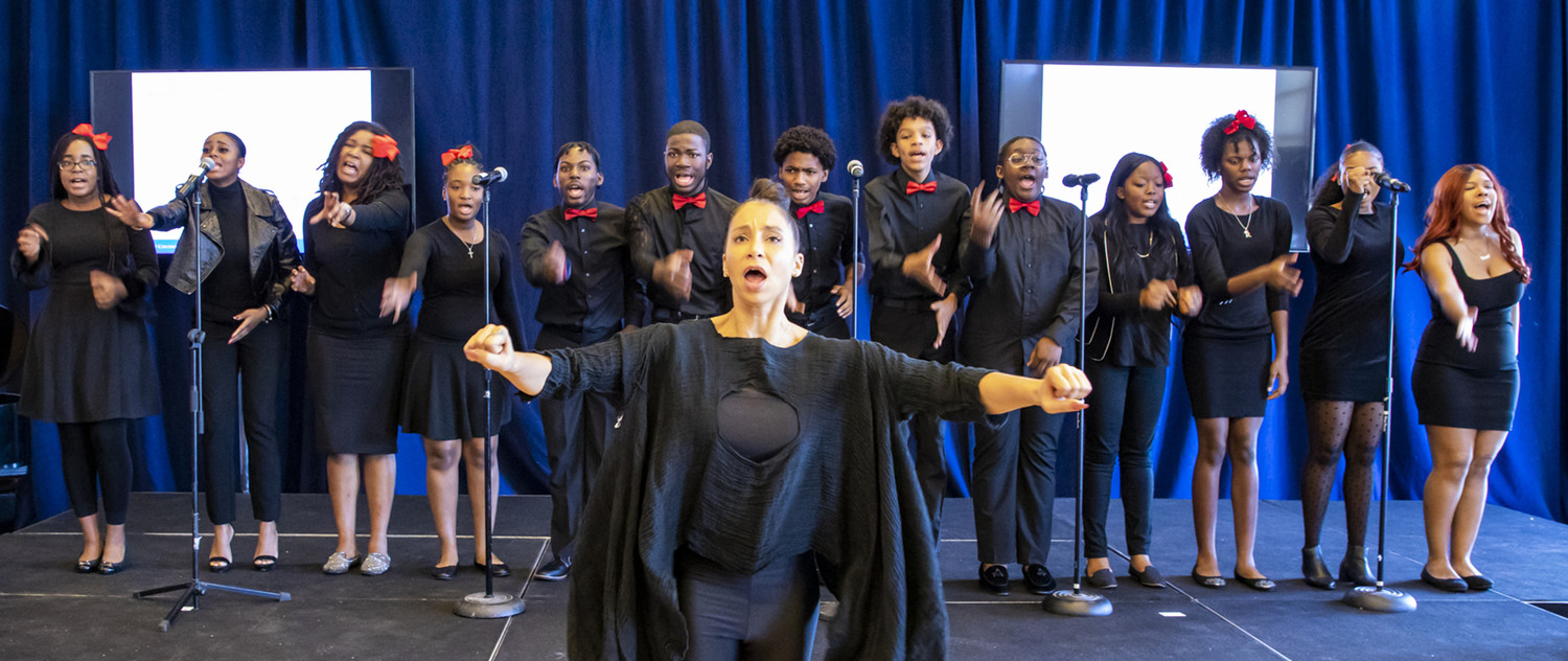 Sing Harlem Perform at Columbia Mailman 400 Years Commemoration