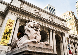 New York Public Library on 5th Avenue