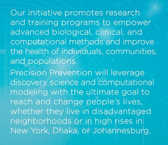 Precision Prevention_Training and Research_Columbia University