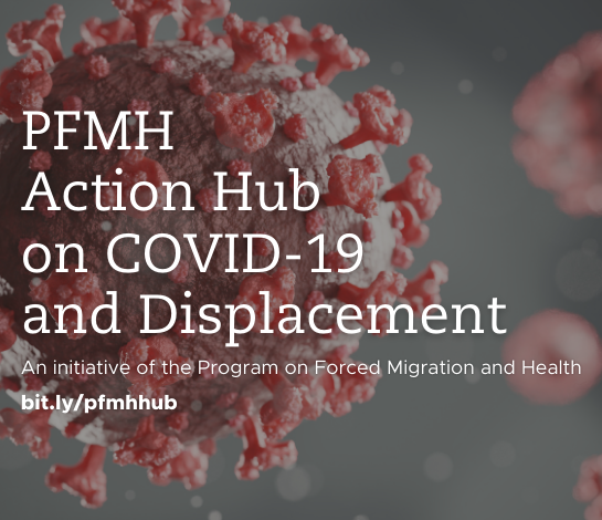 PFMH Action Hub on COVID-19 and Displacement